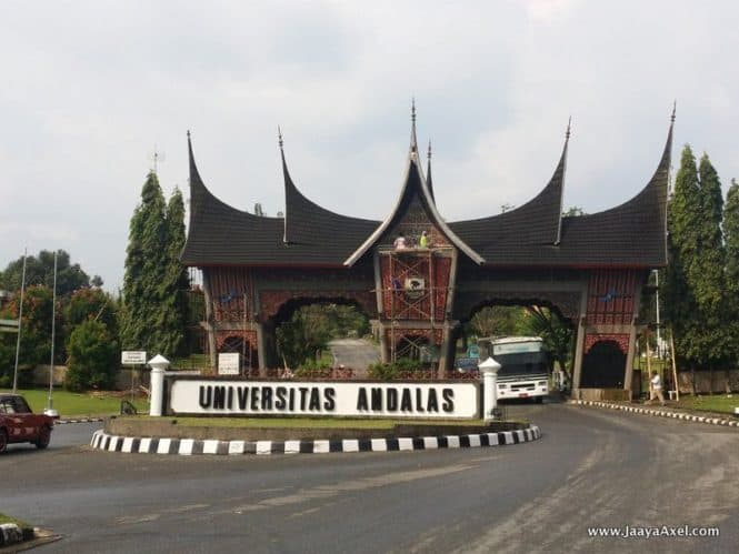 Andalas University Entrance
