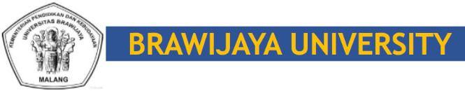 Brawijaya University Intro Logo