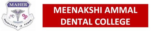 Meenakshi Ammal Dental College Intro Logo