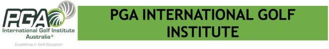 PGA International Golf Institute Intro Logo