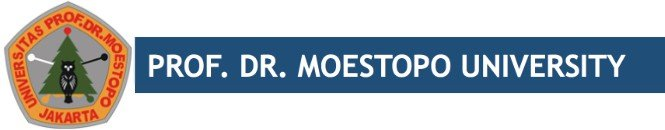 Prof Dr Moestopo University Intro Logo