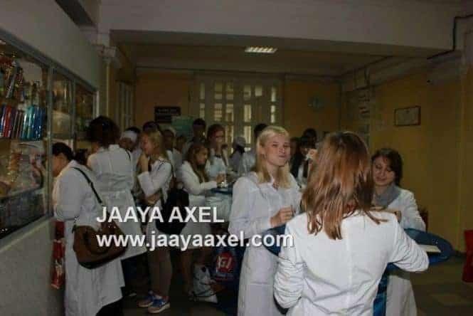 Students at NIZHNY