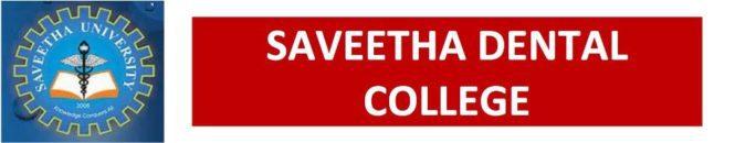 Saveetha Dental College Intro Logo