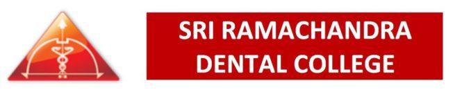 Sri Ramachandra Dental College Intro Logo