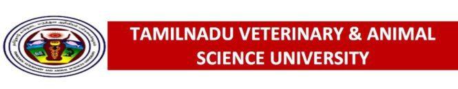 Tamilnadu Veterinary & Animal Science University Intro Logo
