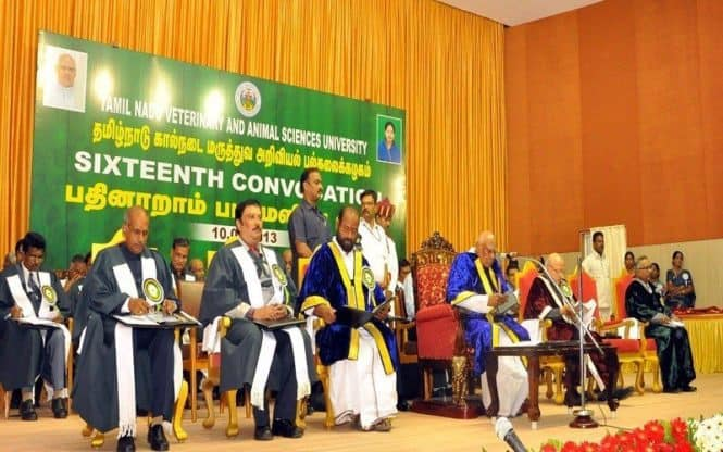 Tamilnadu Veterinary and Animal Sciences University Convocation